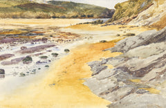Sandy Bay - Original 20th Century Watercolour Painting