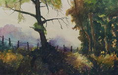 R. H. J. Lawrence - Forest Path, 1988 Watercolour