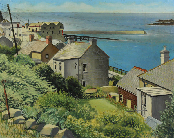 Sennen Cove - Cecil Riley, Original Oil Painting