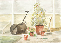 Norah Perry - Pair of Still Lifes, 1988 Watercolours