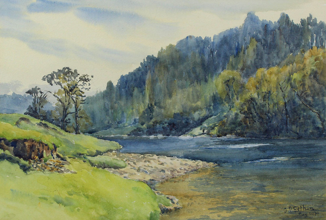 J. P. Gethin - The Great River, 1931 Watercolour