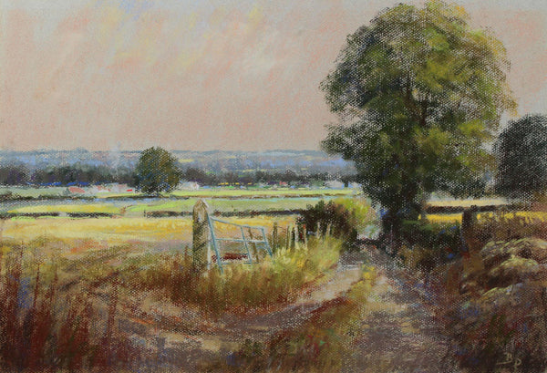 B. D. - Country Lane, Contemporary Pastel