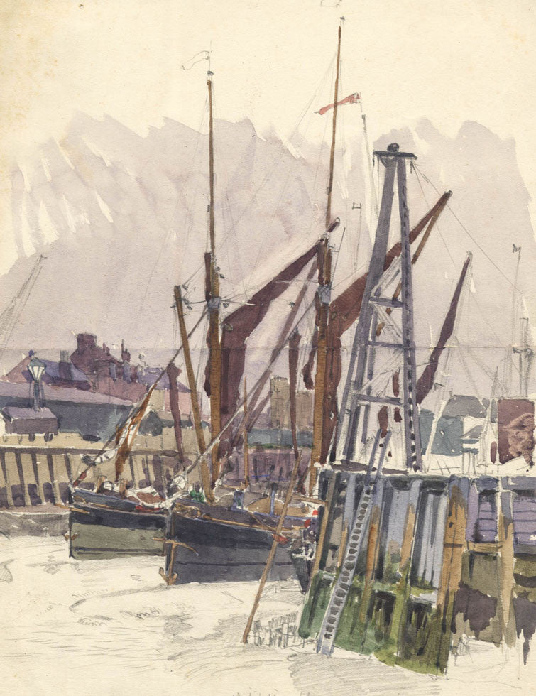 Whitstable - 1922 Watercolour