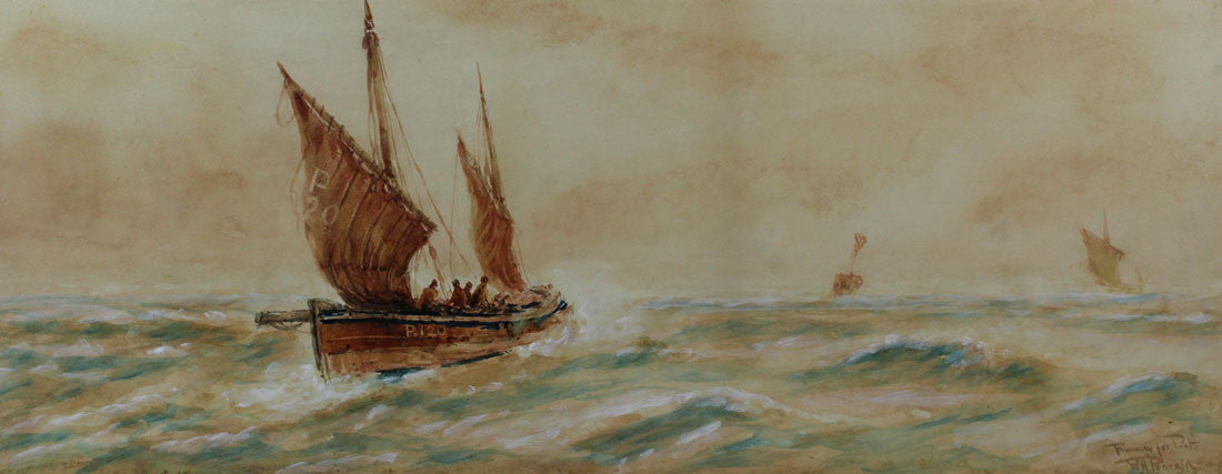 Running To Port - William Henry Pearson, Original 20th Century Painting