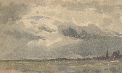 Elliott Seabrooke - Set of 4 Landscapes, Early 20th Century Watercolour