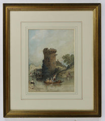 Ruins - 19th Century Watercolour
