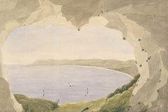 Raymond-Barker Family - Cove, 1848 Watercolour
