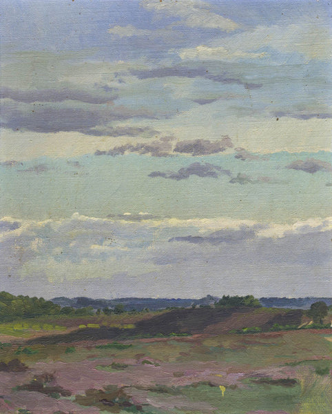 Circle of Frederick Golden Short - Heathland, Early 20th Century Oil