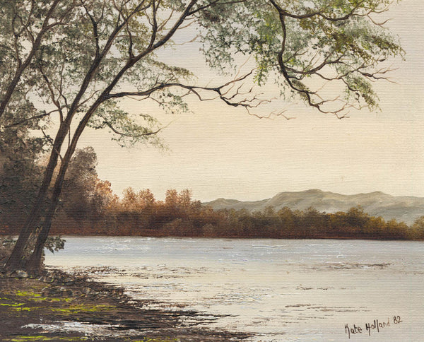 Kate Holland - Coniston, 1982 Oil