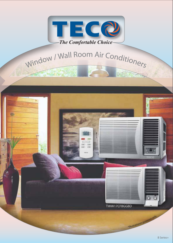 Teco Window Wall Air Conditioner 2 73 Kw Cooling Only