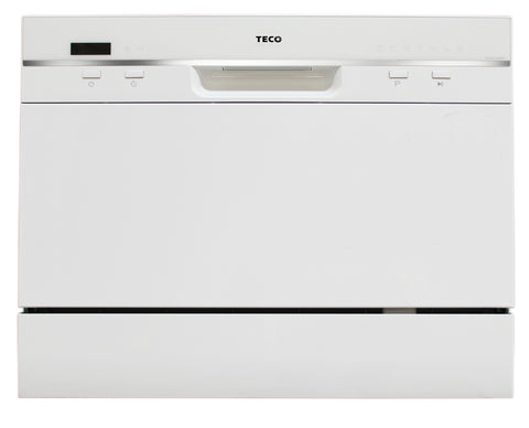 TECO 6 Place Setting White Dishwasher TDW06WA