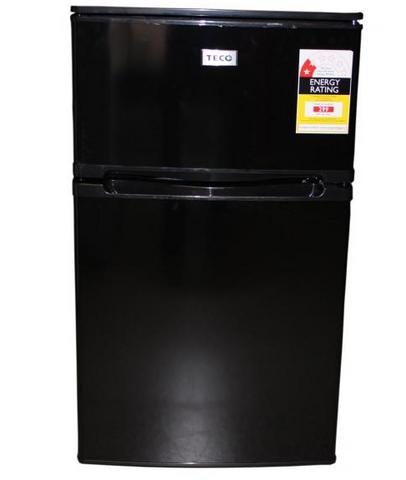 TECO 84L Two Door Upright Bar Fridge (Black) TBF84BMTA
