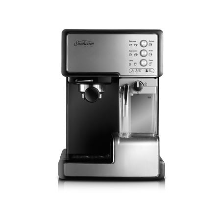 Sunbeam Café Barista Manual Coffee & Automated Milk Machine EM5000
