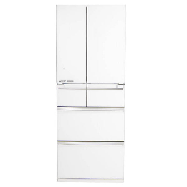 Mitsubishi Electric 500L French/Multi Drawer Fridge (Diamond White) MRWX500CWA