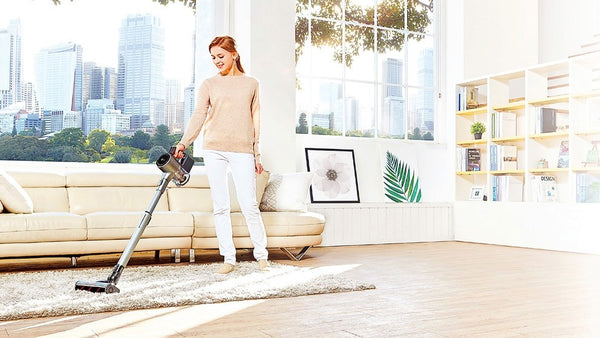 LG A9 2X Master Handstick Vacuum Cleaner (Silver) A9MASTER2X