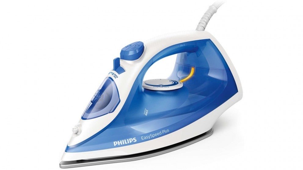 Philips EasySpeed Plus Steam Iron with Non-stick Soleplate (Blue) GC2143/29