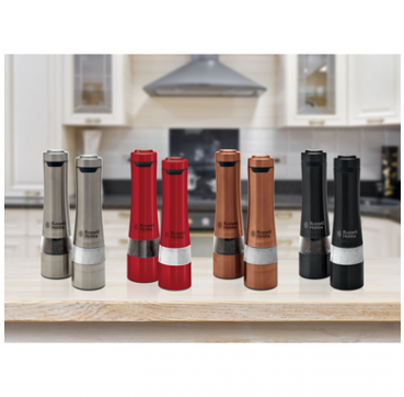 Russell Hobbs Salt & Pepper Mills (Stainless Steel) RHPK4000