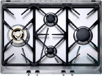 Smeg 70cm Stainless Steel Gas Cooktop CIR574X3