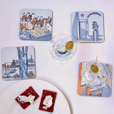 St. Malo coaster set of four