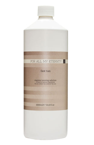 1 Litre Express 1hr Fast Tan Solution - For All My Eternity