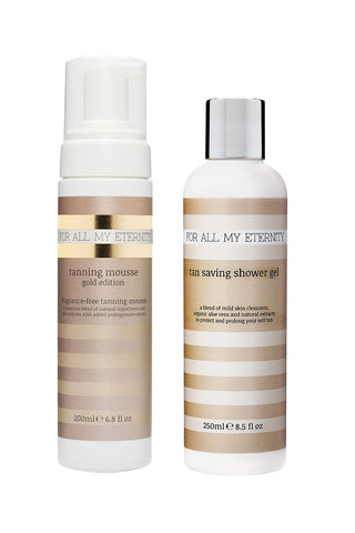 Gold Edition Mousse & Tan Saving Shower Gel Multibuy - For All My Eternity