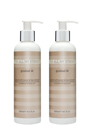 Gradual 10 Self Tan Lotion Multibuy Offer - For All My Eternity