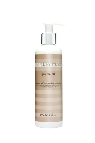 Gradual 10 Daily Self Tan Lotion (Light - Untinted) - For All My Eternity