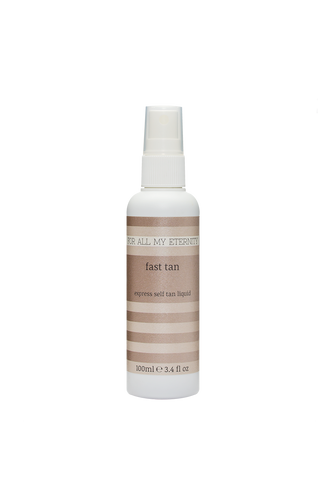 Fast Tan Express Tanning Liquid (Dark - Tinted) - For All My Eternity