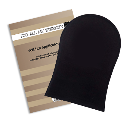 Self Tan Applicator Mitt - For All My Eternity