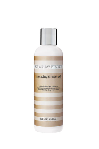 Tan Saving Shower Gel - Sweet Orange & Grapefruit - For All My Eternity