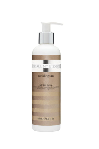 New! Wedding Tan  Lotion (Medium - Untinted) - For All My Eternity
