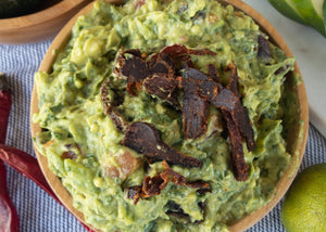 Game Day Guacamole w/ Spicy Biltong