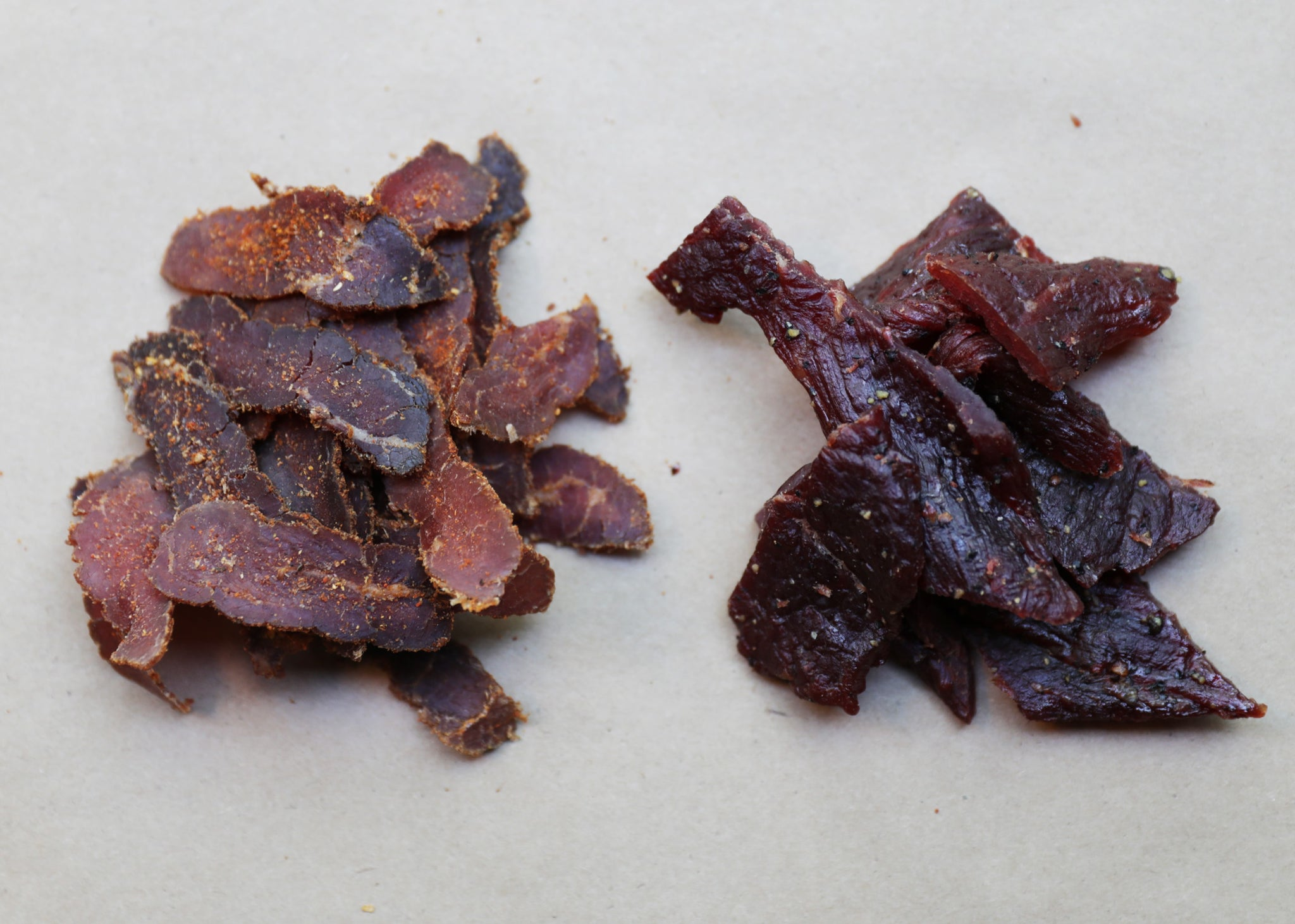 What is the difference between Biltong and Beef Jerky?
