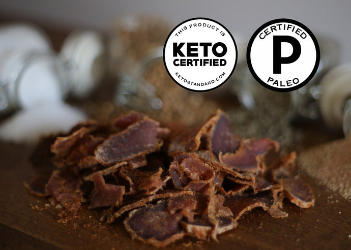 Paleo & Keto Certified Beef Snacks