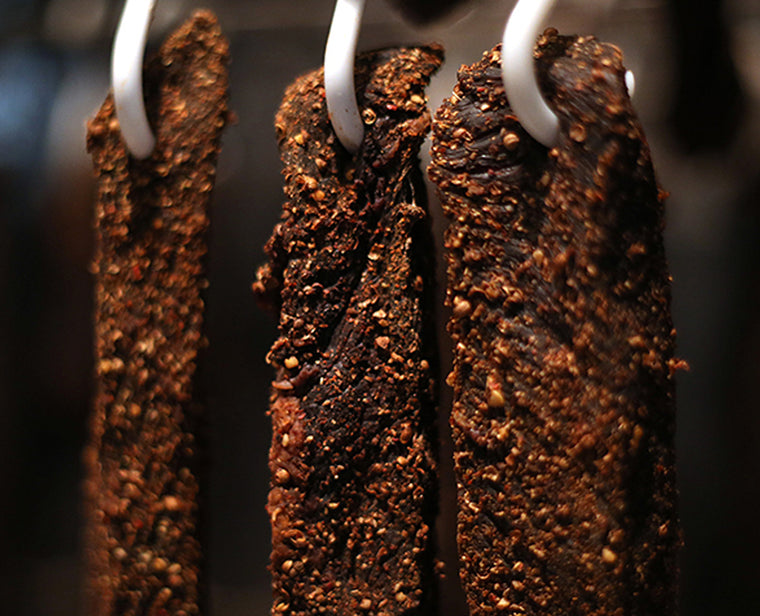 Biltong Air Dried Beef, How it's Made by Ayoba