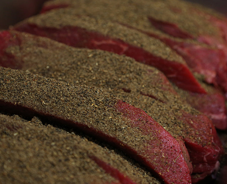 How to make premium grass fed beef biltong