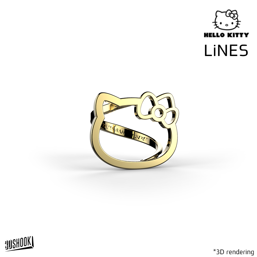 Hello Kitty LiNES Ring