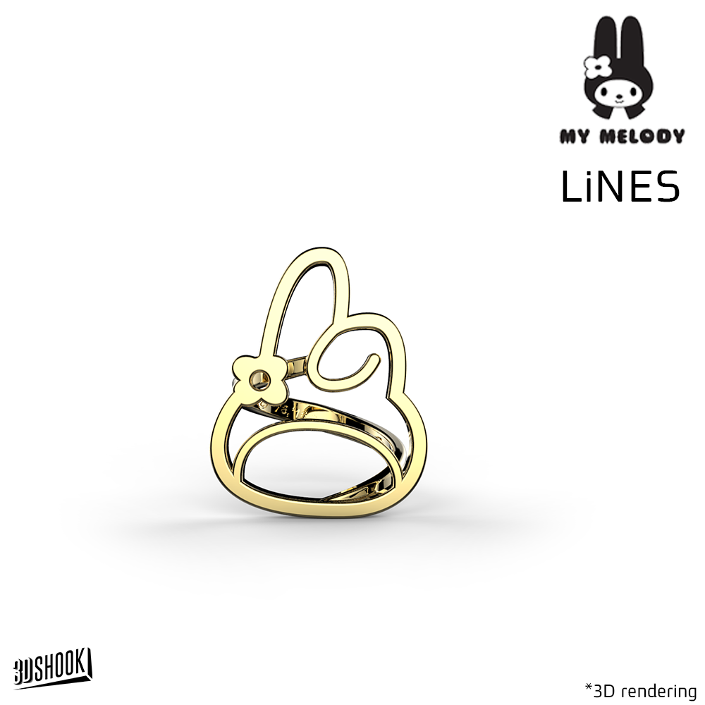 My Melody LiNES Ring