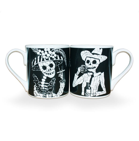2 Day of the Dead Coffee Mugs