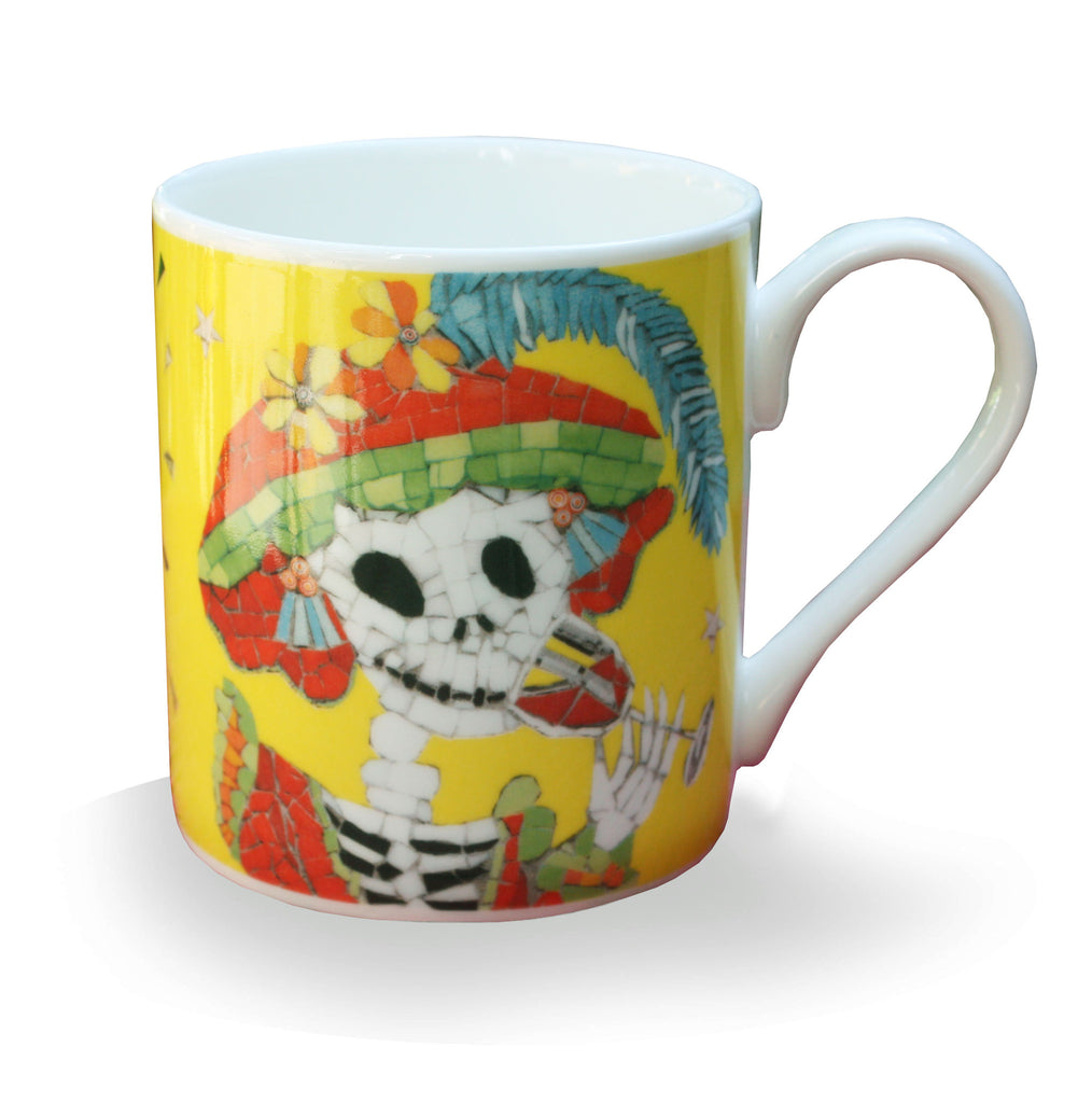 Yellow Rock Chick Coffee Mug