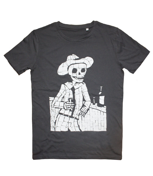 Organic T- Shirt - Juan at the Bar
