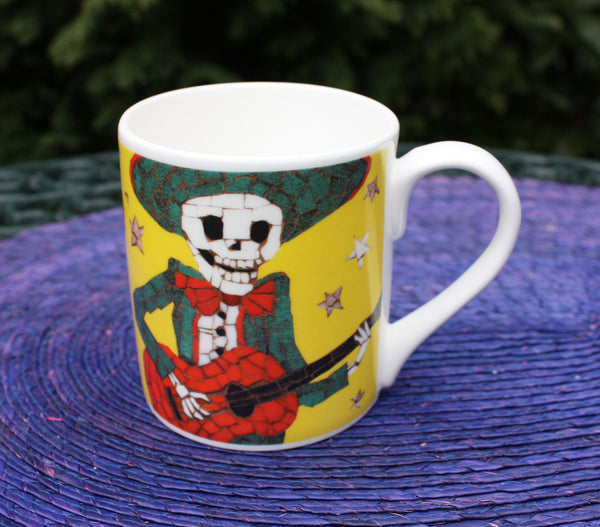 Yellow Alberto Coffee Mug