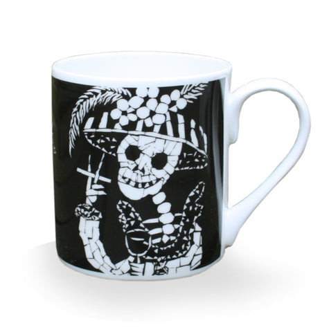 Day of the Dead Coffee Mug - Auntie Nana
