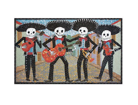 The Mariachi Band - Large Print