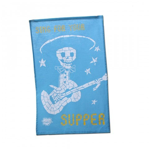 Tea Towel - Sing for your Supper