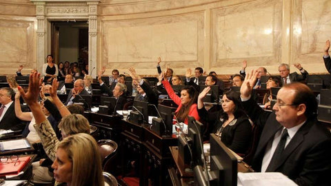 Approval in the Argentine Senate