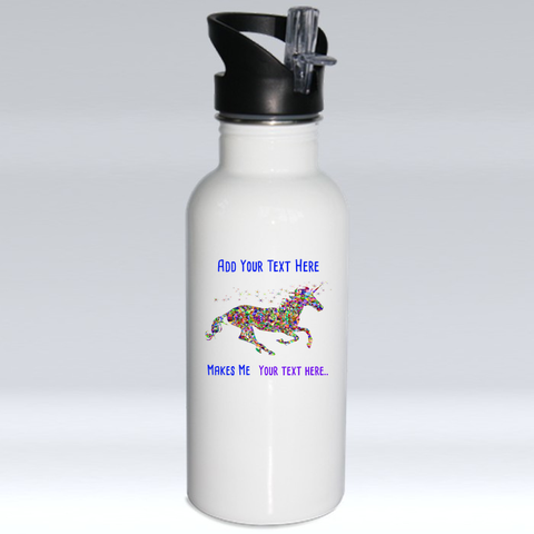 Create a Custom Water Bottle for a Horse Lover