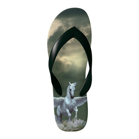 Love the Pegasus horse? Take it with you on your Flip Flop's - Unique & not found in stores!