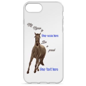 Horse Lover Custom iPhone 7/7 Plus Case - Can't Be Found Elsewhere!