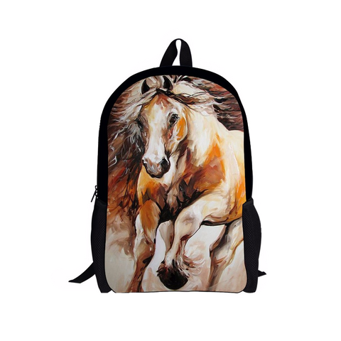 3D Horse Print Mini Backpack for Children - Free Shipping!